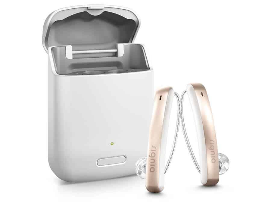 Audífonos recargables Signia Siemens